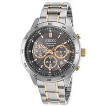 Reloj Seiko Sks525p1 Es Neo Sport Chronograph Two-tone