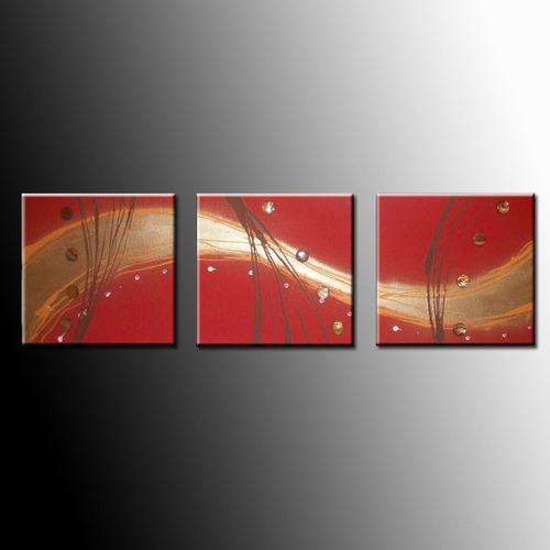 Cuadros Tripticos Abstractos Modernos - Varios Modelos ...