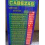 Cartel Electronico Cabezas Dia -emporio Del Agenciero Congre