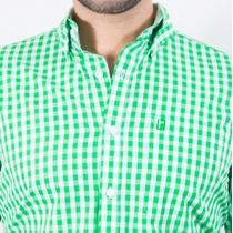 Camisa Longfield Dorset Verde Vivos Verde