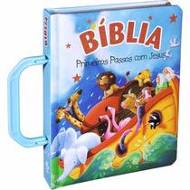 Biblia Infantil Primeiros Passos Com Jesus Menino