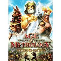 Age Of Mythology Extended Para Pc Dvd-rom Traduzido E Dublad