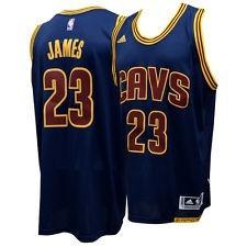 d05cfeedd Camiseta De Basquete Nba Cleveland Cavaliers 23 Lebron James - R  59 ...