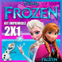 Kit Imprimible De Frozen Con Diseños Para Niños 2x1 Original