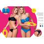 Malla Bikini Cocot 12577 Strapless C/vedetina T85/90/100 Ne