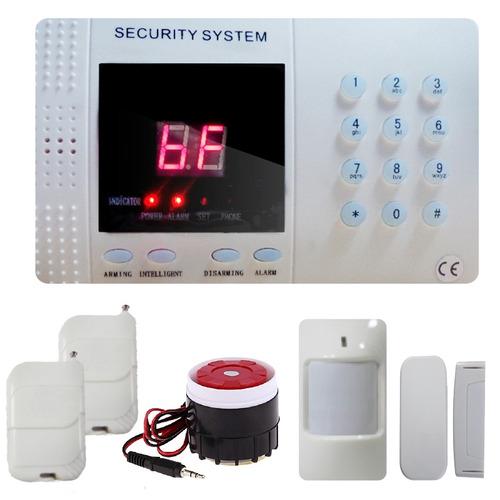 Alarma inalambrica para casa negocio l nea telefonica al0 for Poner linea telefonica en casa