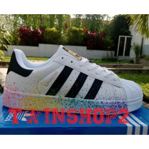 Zapatos Adidas Super Star Colors Pintados 2016 Importados