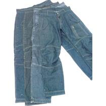 Pantalon De Moto O Tiempo Libre Con Proteccion En Jeans