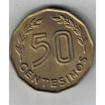 Uruguay Moneda De 50 Centesimos Año 1976 !!!!!!!!
