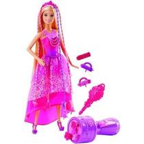 Barbie Tranças Mágicas Reino Dos Penteados Mágicos - Mattel