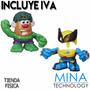 Muñecos Señor Cara De Papa Kit De Hulk Y Wolverine A72722211