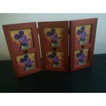 Porta Retrato Mickey Mouse. (articulo Nuevo).