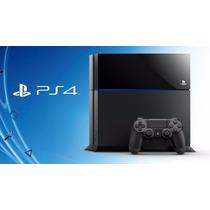 Playstation 4 Sony 500gb Ps4 + 3 Jogos Pronta Entrega
