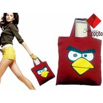 Bolsa De Tecido Angry Birds Presente Dia Dos Namorados