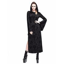 Disfraz Steampunk Sexy Hoodie Dress Gothic Punk Skirt Renais