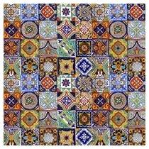 100 Azulejos Ceramica Talavera Decorados Pintados A Mano