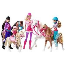 Barbie Y Sus Hermanas En Un Pony Tale - Caballo Aventura