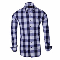 Camisa Elastizada Entallada Importada - Quality Import Usa