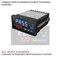 Controlador Pid Temperatura Pirometro Para Hornos Con Rs485