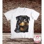 Camiseta - Cachorro Rottweiler - Estampa Não Apaga N Desbota