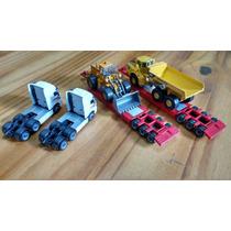 Conjunto 2 Miniaturas Prancha Volvo Completa