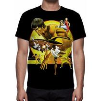 Camisa, Camiseta Filme Bruce Lee No Jogo Da Morte