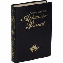 Bíblia Aplicação Pessoal De Estudo Preta 23,5x17cm
