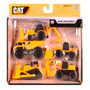 Mini Maquinas Cat Pack X5 Unidades Super Resistentes - 34601