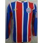 Camisa Esporte Clube Bahia 2016 Manga Longa