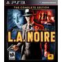 L. A. Noire Edicion Completa Ps3    Digitales Falkor    Ya!