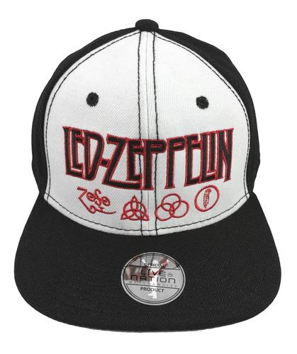 Led Zeppelin - Gorra Logo Negro Con Rojo Snapback Hendrix -   250.00 en  Mercado Libre cd74f03cbe7