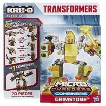 Juguete Transformers Kre-o Amarilllo