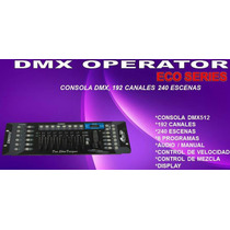 Consola Dmx 192 Canales Gbr Operator