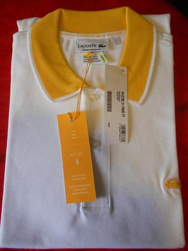 75c1c41e913c2 Polo Lacoste Special Edition T7 Original Importado - R  208,36 em Mercado  Livre