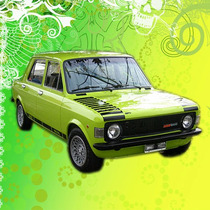 Calco Decoracion Fiat 128 Iava 1100