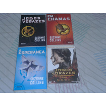 Box Trilogia Jogos Vorazes + Dvd Quadrilogia Jogos Vorazes