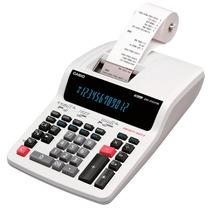 Calculadora De Mesa Casio Grande Com Bobina Dr-210tm 12 Dígi