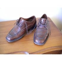 Zapatos Guante. Linea Clásica . Color Café . N° 39 .