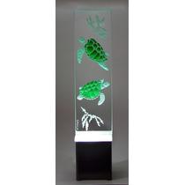 Lámpara De Mesa, Buró, Escritorio Cristal Decorativa