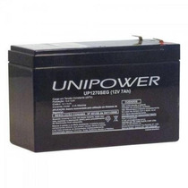 Nobreak Bateria Unipower Up1270seg 12v 7.0ah