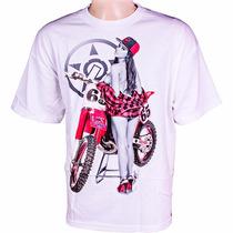 Camiseta Unit Diamond - Branca - Mx Parts