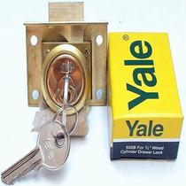 Cerradura Yale P/mueble Bronce 555b Us3