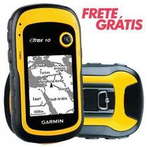 Gps Garmin Etrex 10 Portátil Nautico Navegador Glonas Trilha