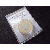 Moneda 20 Pesos Morelos 2015 Unc En Blister