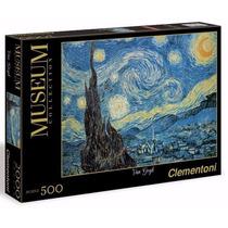 Quebra Cabeça Puzzle 500 Peças Van Gogh Notte Stellata Impor