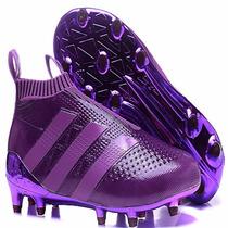 Chuteira Futebol / Adidas Ace16 + Purecontrol Fg / Ag Orig