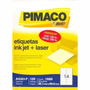 Etiqueta Pimaco Inkjet Laser A4 363 - 1680 Unidades