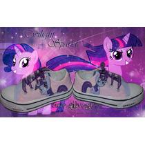 Zapatillas Pintadas/customizada Personalizada My Little Pony