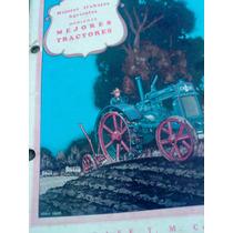 Catálogo De Tractores Case 12-20, 18-32, 25-45 Hp Circa 1928