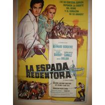Poster Pelicula * La Espada Redentora *año 1962